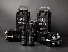 Lervig 10th Anniversary Beer | #packaging #bottledesign #beer