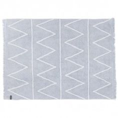 Lorena Canals Hippy Washable Rug in Soft Blue