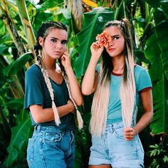 When u and ur best friend are both gorgeous and slayying, that would be goals (u are extremely beuty no one compute with u for me with extremely truth heart Bff Pictures, Cute Photos, Tumblr Photography, Best Friend Pictures, Best Friend Goals, Best Friends Forever, Girl Gang, Tumblr Girls, Photoshoot