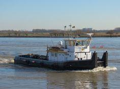 Bij Barendrecht  16 februari 2016 op de Oude Maas richting Spijkenisse http://koopvaardij.blogspot.nl/2016/02/bij-barendrecht.html
