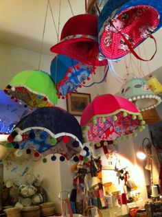 Re working Vintage from Wild Strawberry Picking /Wild Lampshades LAMPSHADES !!!
