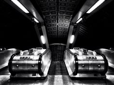 London Underground by Diego Ariza, via Behance