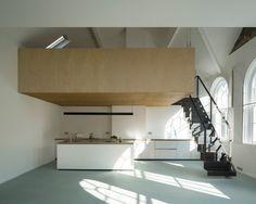 West Architecture - Bavaria Road Studio, London 2006 - 2016. Via, photos © Peter Cook, Ben Blossom. [[MORE]]
