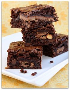 Paula Deen's Symphony Brownies recipe