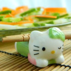 Fun! Hello Kitty Chopstick Rest