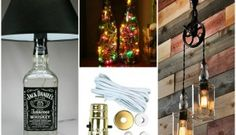 DIY: Tutorial guide to make a lamp with old #Bottles @idlights