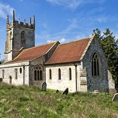 The Church of St Giles, Imber, Wiltshire, UK