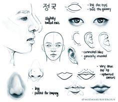 sunshine — face studies of maknae line~ (hyung line) please...