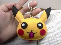 Pikachu Felt Plushie | made this it turned out so cute