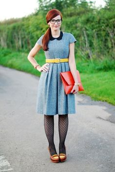 2. Show #Personality with Your Bag - 7 Ways to Dress up an #Interview Outfit ... → #Fashion #Bland