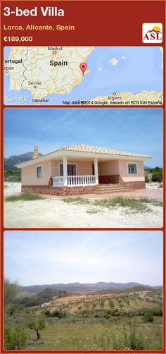 3-bed Villa in Lorca, Alicante, Spain ►€189,000 #PropertyForSaleInSpain