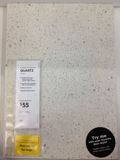 IKEA Quartz Countertop NOUGAT: This Would Look Good W/white But Unlike  Marble It
