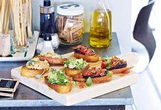 Bruschette mit Chili-Bohnen