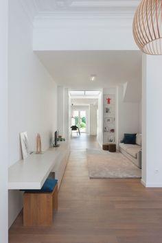 bureau living - Architectenkantoor: (Full) Scale Architecten - Van 2 herenhuizen naar meergezinswoning