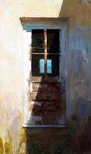 Scott Conary Robert's Door Oil on Canvas 54″ x 32″