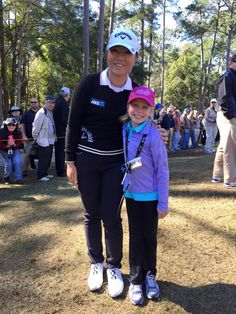 The First Tee of Greater Ocala's Girl Players Meet LPGA Greats