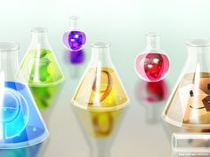 Erlenmeyer Flask Glass Art