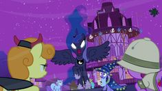 Princess Luna: Since you choose to fear your princess rather than love her, and dishonor her with this insulting celebration, we decree that Nightmare Night shall be canceled! Forever!