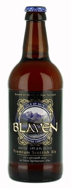 Blaven Premium Scottish Ale.