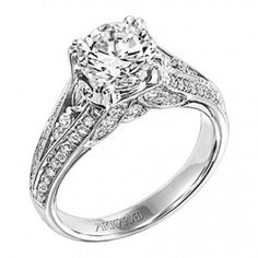 Beatrice ArtCarved Diamond Engagement Ring