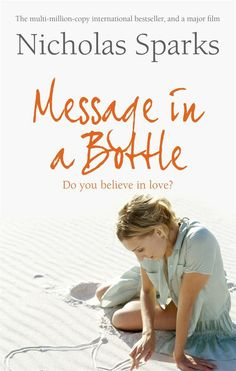 I cry before i get to the sad part. love the movie too..,Message In A Bottle by Nicholas Sparks #Romantic #Novel