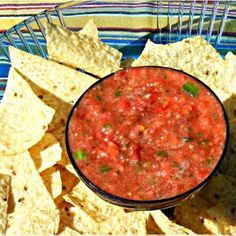 Me- Really? Healthy salsa?, I am so making this next time i get myself some tostito chips