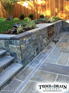 Decorative aluminum grates for patio drainage
