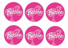 Cupcake Toppers – Page 2 Barbie Party Decorations, Barbie Theme Party, Barbie Birthday Party, Doll Party, 6th Birthday Parties, Barbie Cupcakes, Barbie Cake, Barbie Invitations, Cupcake Toppers Free