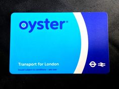 Oyster card Oyster Card, London Transport, London Travel, Uk And Ie Destinations, Photos Voyages, London Calling, City Lights, Oysters, Transportation