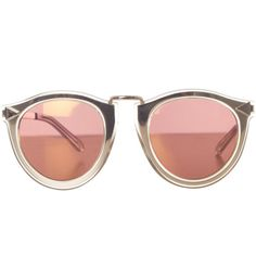 Limited Edition Harvest Gold Sunglasses (€315) ❤ liked on Polyvore featuring accessories, eyewear, sunglasses, glasses, delete, round sunglasses, gold round sunglasses, gold glasses, round frame glasses and round frame sunglasses
