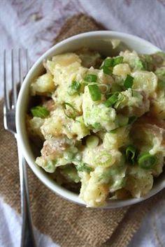 ... Backyard Potato Salad with Celery, Green Onions, Dried Dill. Yummy
