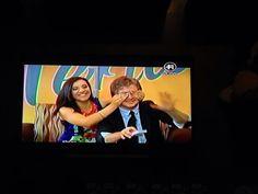 En la tele, dos...