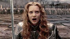 Magic Kingdom's king — disneyliveaction: Mia Wasikowska as Alice... Mia Wasikowska, Disney Live, Disney And Dreamworks, Tim Burton, Magic Kingdom, Live Action, Alice In Wonderland, Knight, Cinderella