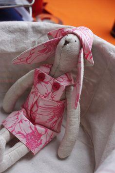 Tilda bunny toy by SunnyToys on Etsy, $14.90