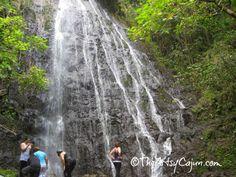 The Artsy Cajun: Hamama Falls Hike, Oahu Hawaii activities, vacation in paradise.