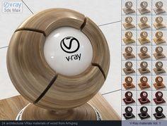 Vray Wood Materials 3D Модель .max .c4d .obj .3ds .fbx .lwo .stl @3DExport.com by ARHIGREGDESIGN