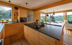 SH 14 - WILLKOMMEN IN WEIDLING | AL Architekt House Layouts, Kitchen Island, Home Decor, Photos, Open Plan Kitchen, Home Architect, Detached House, Build House, Dinner Table