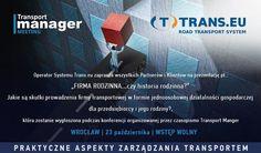 Konferencja we Wrocławiu. Problemy w branży TSL - jak ich unikać? www.trans.eu