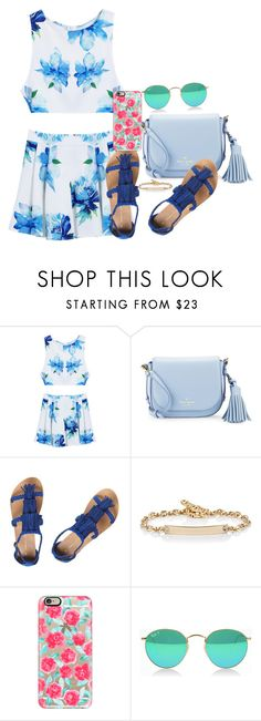 """Blue"" by misfitsclub on Polyvore featuring Kate Spade, Dorothy Perkins, Hoorsenbuhs and Casetify"