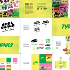 Soul Shack - Jamaican Food visual identity, logo design and branding by Turtle and Hare Studio