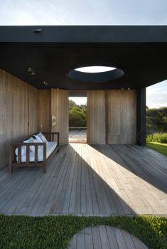 What a fantastic entry. Estudio Martin Gomez Arquitectos designed the La Boyita house in Punta del Este, Uruguay.