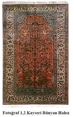 History of the Bünyan Carpet / Bünyan Halılarının Tarihçesi