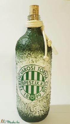 Ftc röviditalos dísz- és használati üveg focirajongói ajándék (Biborvarazs) - Meska.hu Soap Dispenser, Soap Dispenser Pump