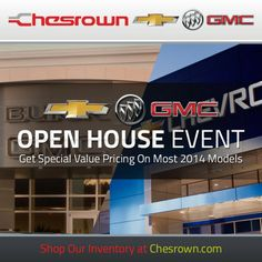Chesrown's Chevrolet Buick GMC Open House Event