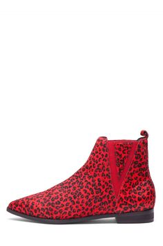 OBSESSED!! Jeffrey Campbell Shoes HARVELL-F in Red Cheetah