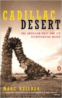 Availability: http://130.157.138.11/record=b3789829~S13 Cadillac Desert: The American West and Its Disappearing Water  by Marc Reisner  The definitive history of water resources in the American West, and a very illuminating lesson in the political economy of limited resources anywhere