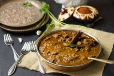 Rogan Josh (Lamb Curry)-My all time favorite-so pleased that it calls for Coconut Milk not cream!!