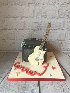 Guitar and amp cake Cupcake Cakes, Cupcakes, Taylormade, Guitar, Amp, Music, Musica, Musik, Muziek
