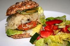 Sauerkrautburger - wenn Resteverwertung nur immer so kreativ wäre!