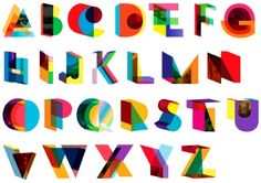 Three-dimensional typography designed by Dylan Mulvaney for Manhattan Magazine's The A to Z of NYC Design article.